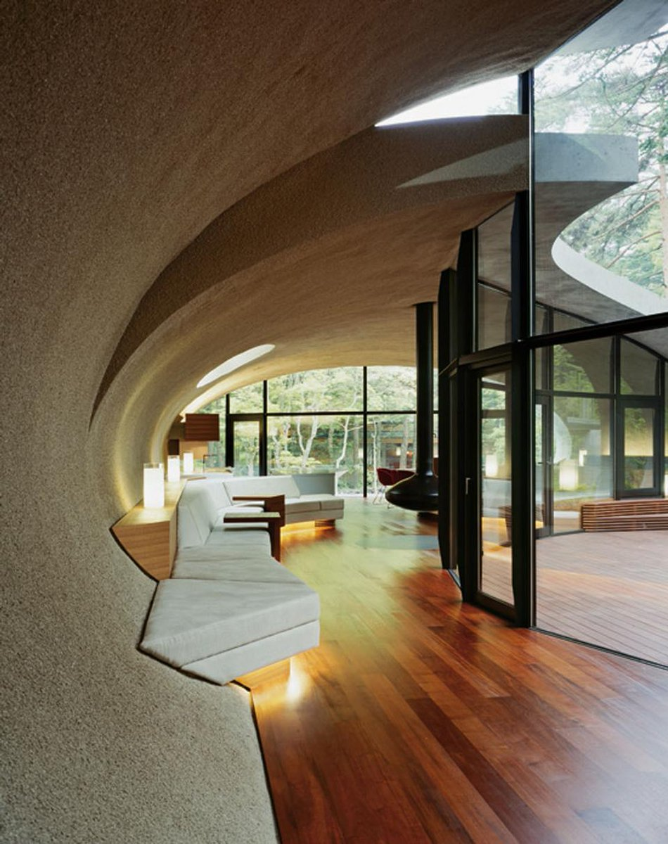 Freshome On Twitter Beautiful Interior Design With Curved Lines And Organic Shapes Http T Co Lyqf5utyjd