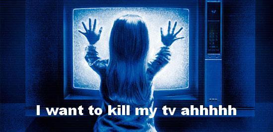 no longer stand the cartoons on TV 12 hours a day uffffffffffffff #killyourtv #fuckingtv #vacances #holydays