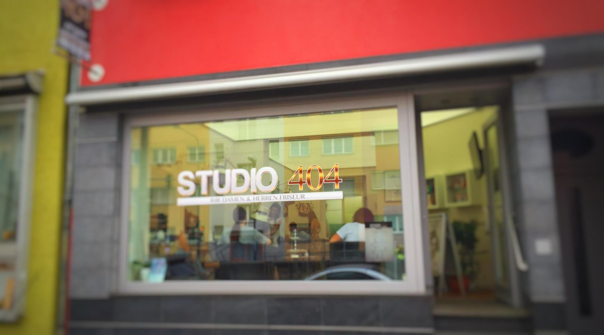 """""""Studio 404""""? - Leider nicht gefunden. #Nerdwitz #Friseurname #Frankfurt"""