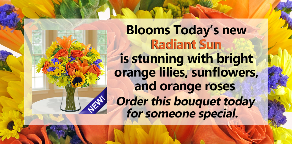 The #BloomsToday Radiant Sun is brimming with all the great colors of the season. http://t.co/R4K3FDXYlq http://t.co/z7U5icmvQX