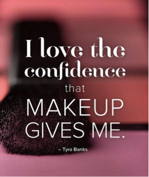 #RT if you love the confidence that makeup gives you! http://t.co/tDS84g4rPC