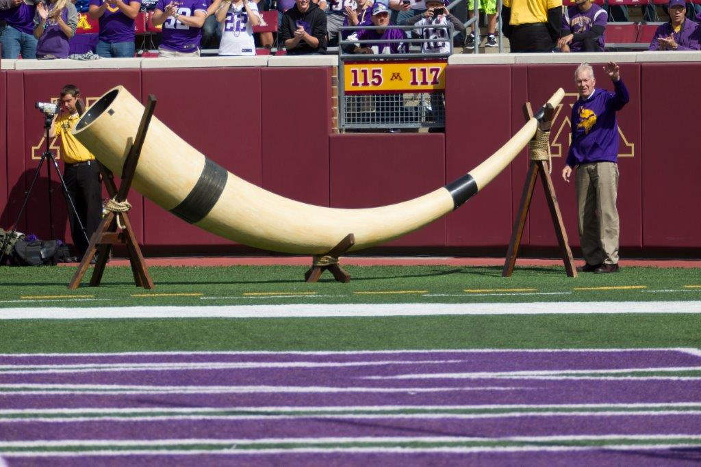It's not surprising to see #Gjallarhorn trending with the #Vikings first home game tomorrow night!!