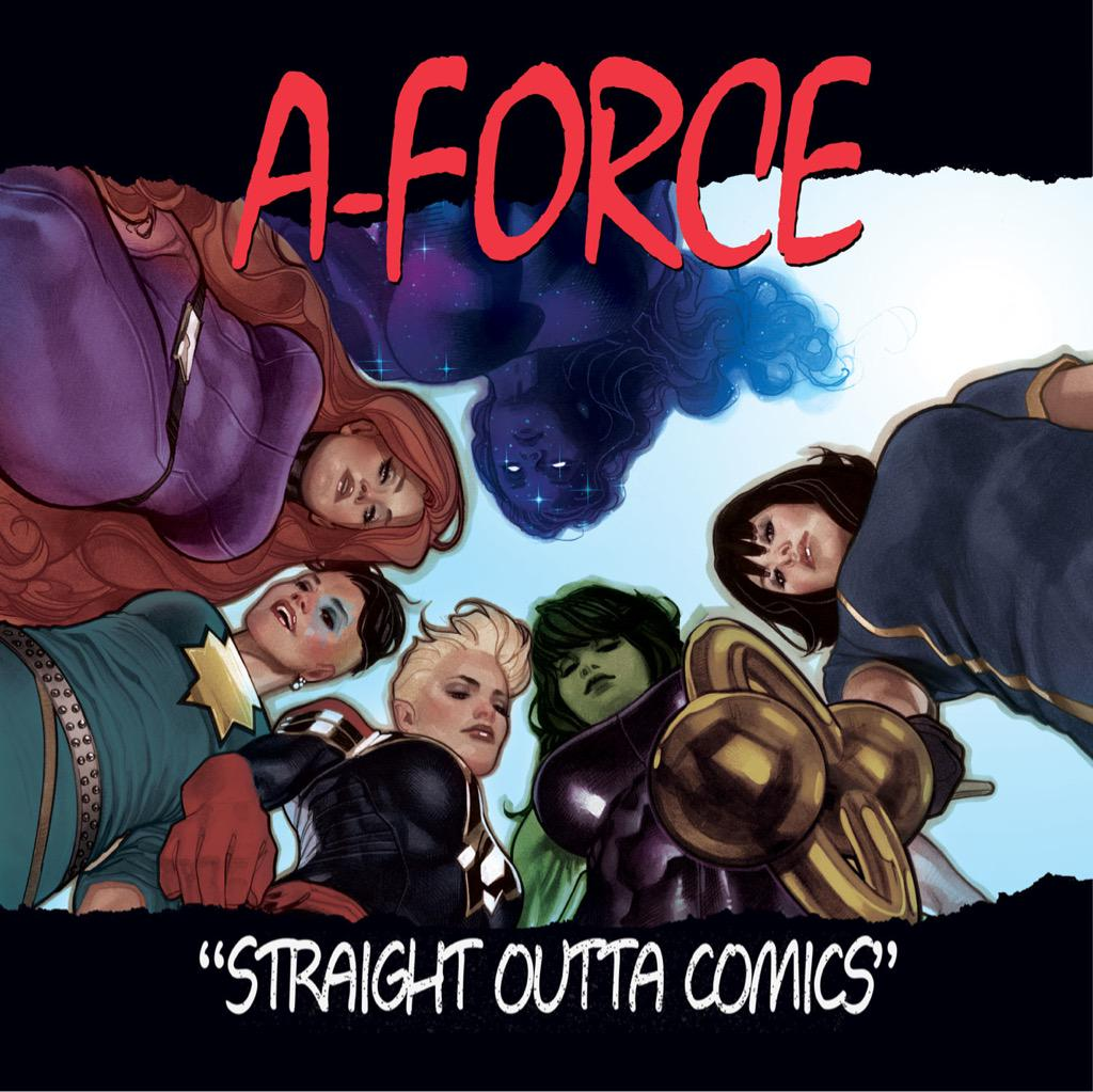 Check out @AH_AdamHughes' Hip-Hop variant for A-FORCE #1. @EllieGWiki http://t.co/eNlgipjgWv