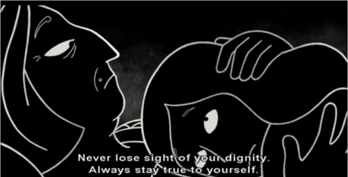 Souihli On Twitter Never Lose Sight Of Your Dignity Always Stay True To Yourself Persepolis Quotes Http T Co M4cvzs7xsd