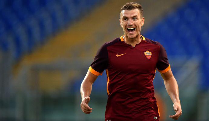 Risultato Roma Siviglia Video Gol Dzeko Salah Garcia Diretta Live