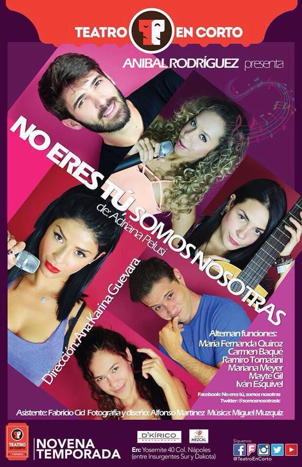 Los espero a partir de las 20hs en @TeatroEnCorto estare dando todas las funciones de @somosnosotrastc ! http://t.co/SyItFyPGOU