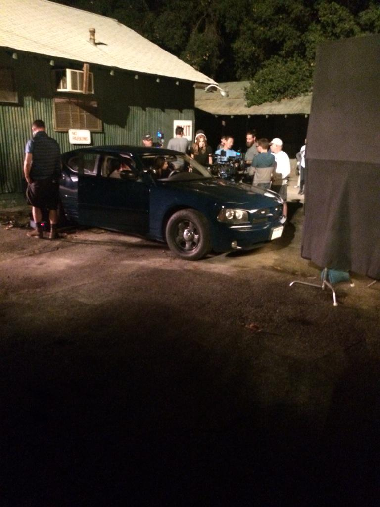This is my Friday night ride. #CastleSeason8 http://t.co/SV1NMyM24a