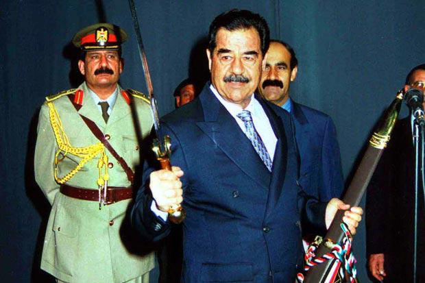 a look into life and political career of saddam hussein Biography biography of president saddam hussein, president of the republic of iraq personal: born on april 28, 1937, in tikrit, the seat of the saladdin province where he finished his primary school.