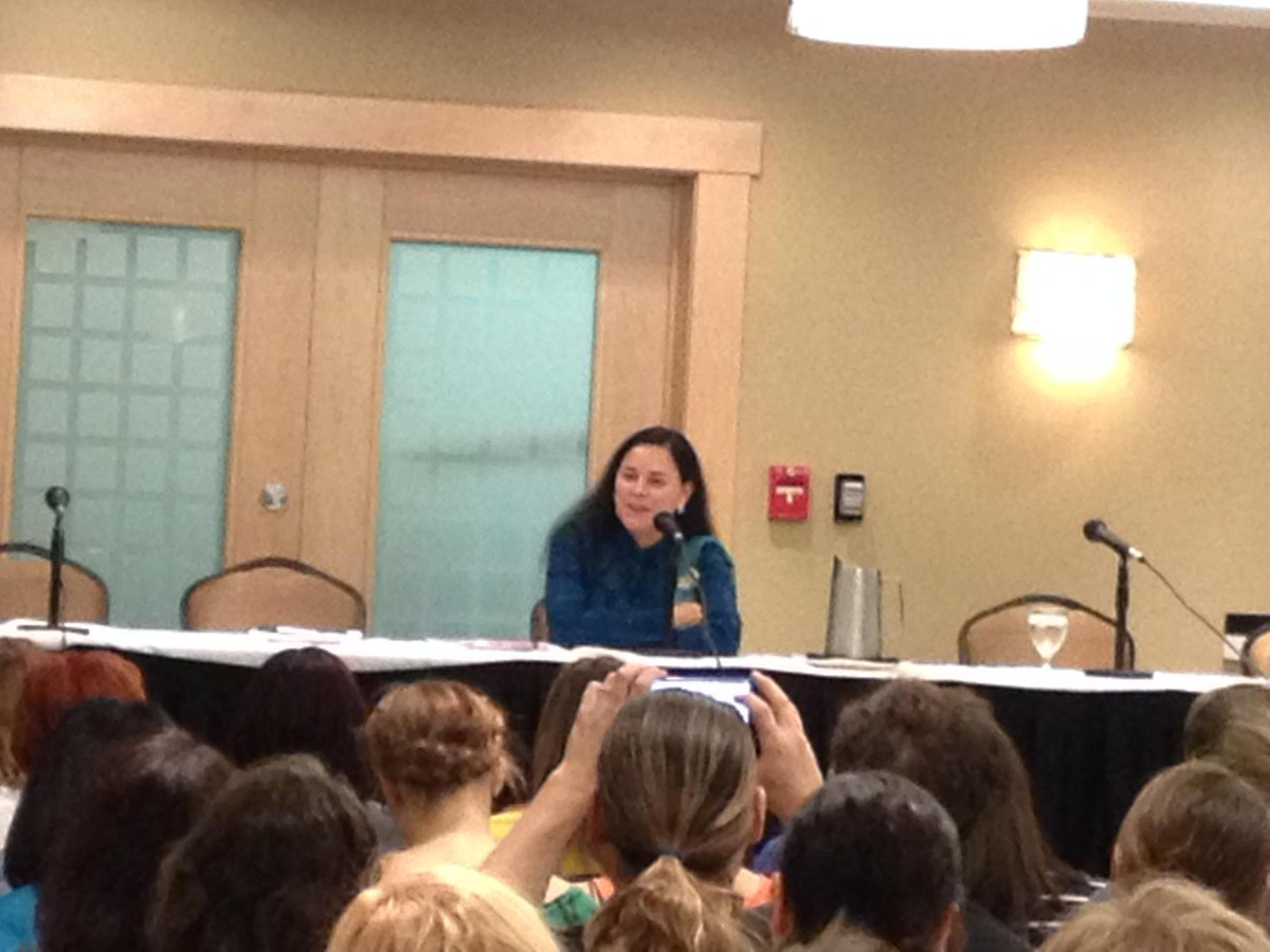 At #wwcyyc2015 listening to @Writer_DG!   @WWC_Calgary http://t.co/xG4SbiOgmd