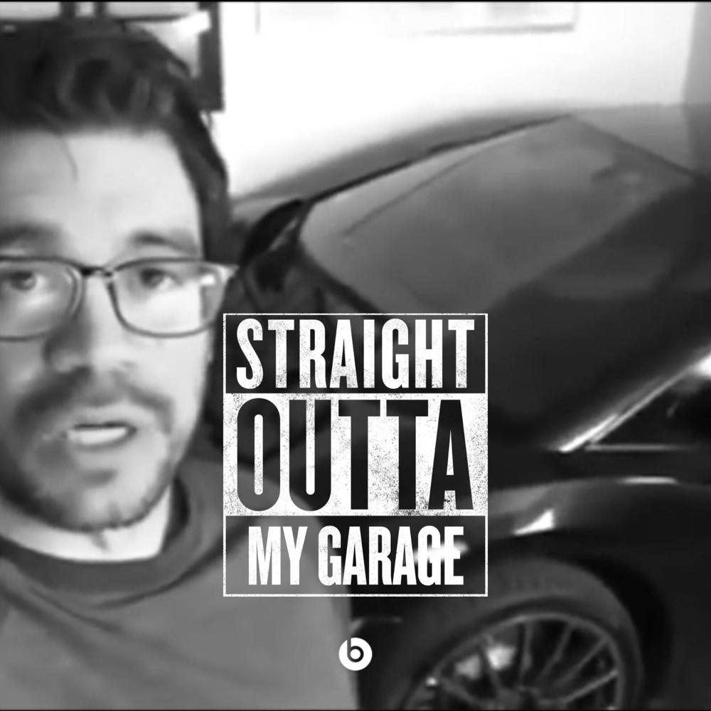 Straight out of his Garage