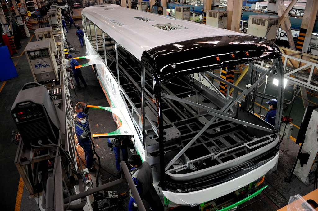 Chinese #bus maker Yutong's new factory in #Venezuela to be inaugurated in October http://t.co/ivMErafgzx