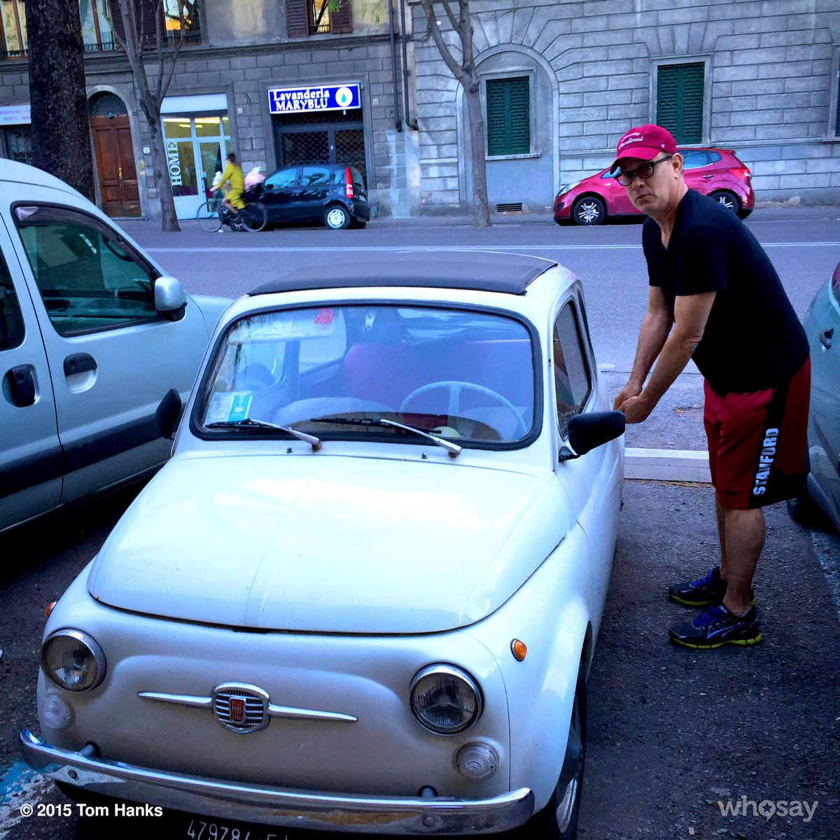 """Tom Hanks On Twitter: """"Thinking Of Buying A New Car! Hanx"""