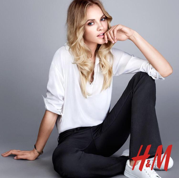 The newest H&M campaign http://t.co/h1W8t1MLHZ