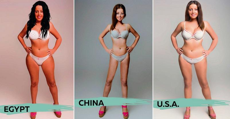 What body type do women like