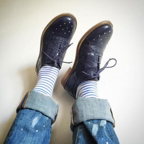 Will's Vegan Shoes Perforated Oxfords bxF3ni6