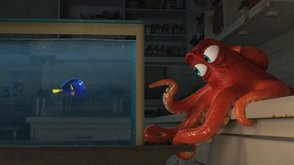 First official image from 'Finding Dory'. #FindingDory http://t.co/oflYvjjeuF