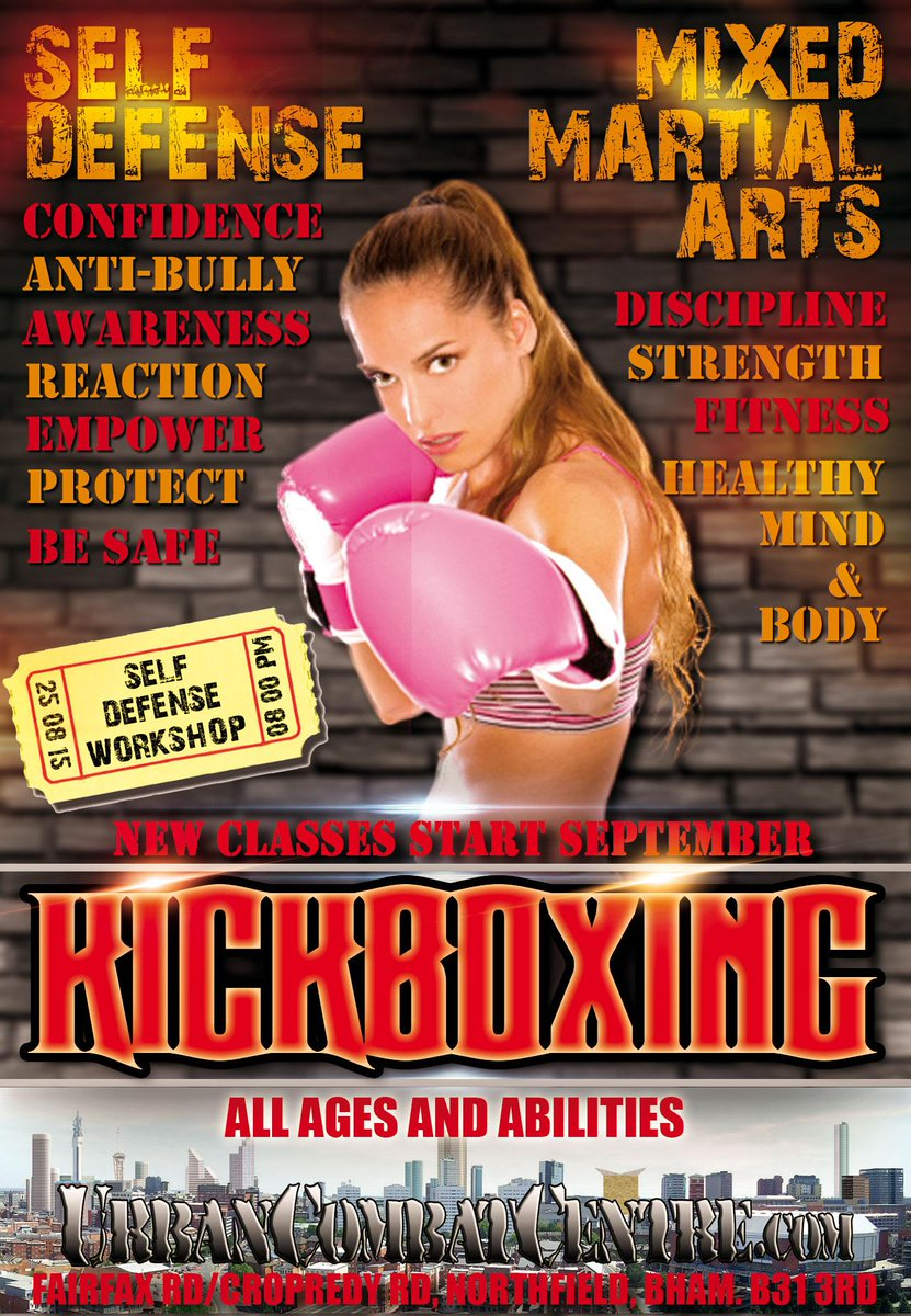 I am returning to martial arts instruction with a new kickboxing class from thusday 3rd september http://t.co/p1CUrkq3su
