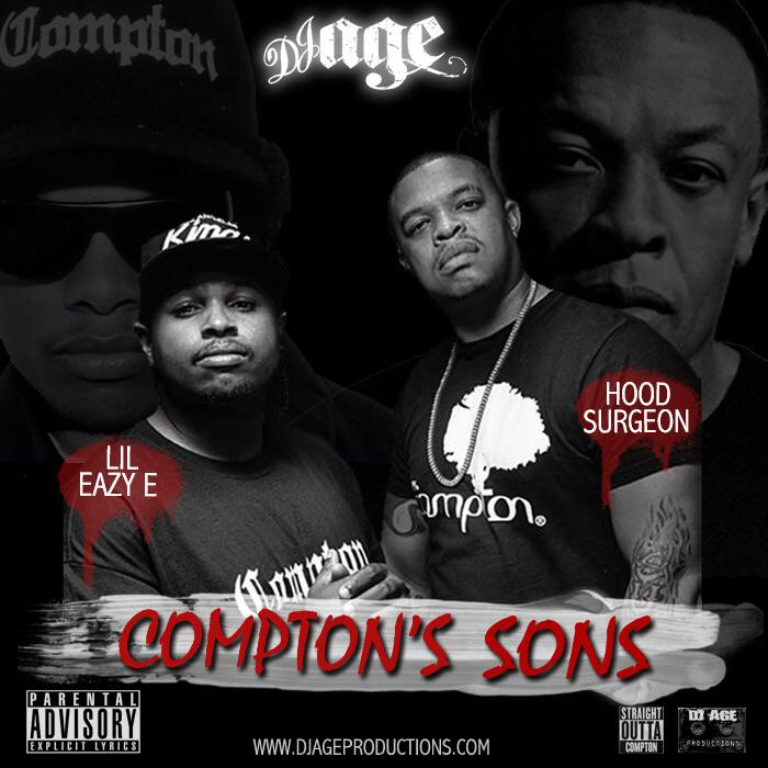 @DJAGE Presents @ewrightjr #LilEazyE  & @MrCurtisYoung #HoodSurgeon - #ComptonsSons http://t.co/mUOYdA7zJ1 http://t.co/AwYYQqzVP3