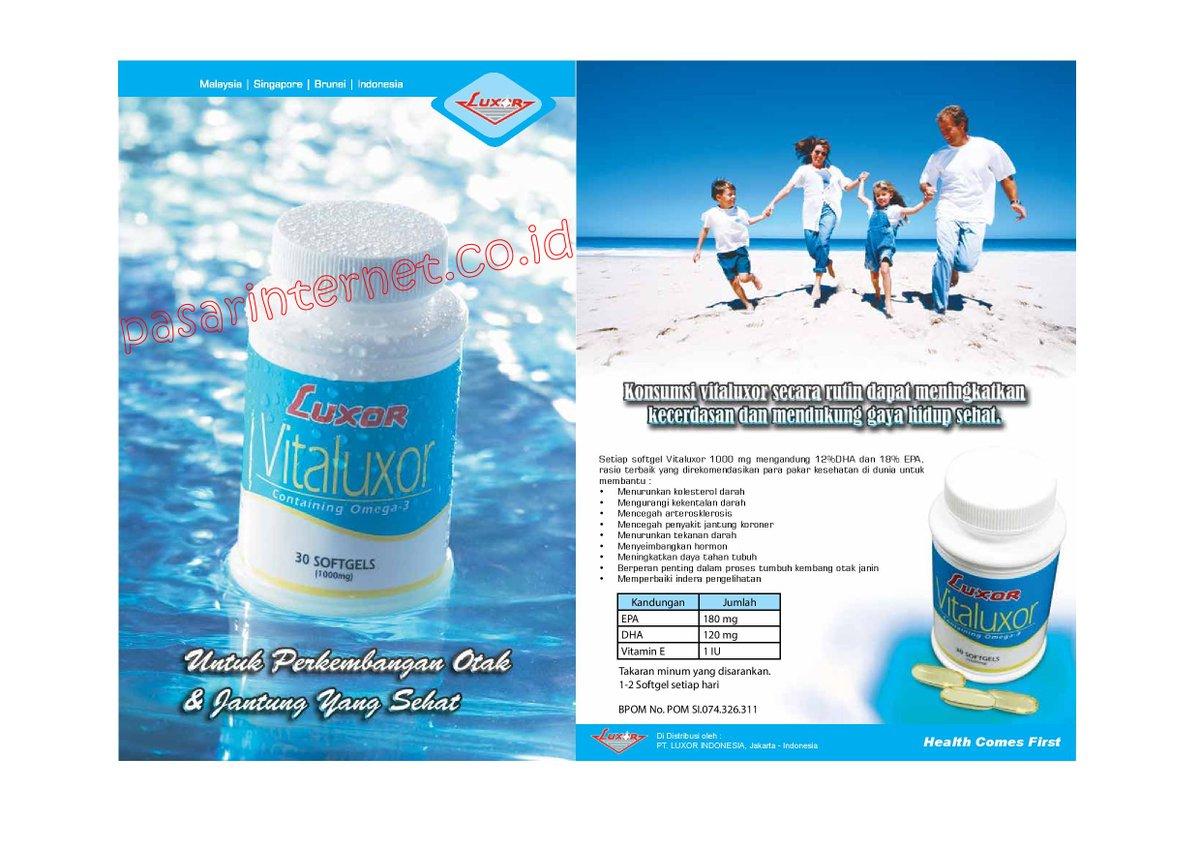 Manfaat dan khasiat Vitaluxor
