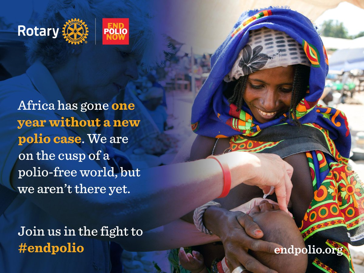 A polio-free #Africa is in sight. Let's commit to finish the job and #endpolio! http://t.co/EbysLsARsz http://t.co/2nYQvQM2T2