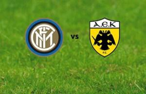 INTER-Aek Atene: Streaming gratis Ultime Notizie Diretta TV Video Live Oggi Premium Sport Rojadirecta