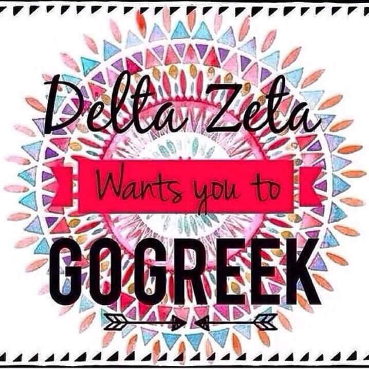 Delta Zeta encourages you to #gogreek and be apart of something bigger than yourself! #unccdeltazeta #UNCC19 http://t.co/dxroO6vX7i