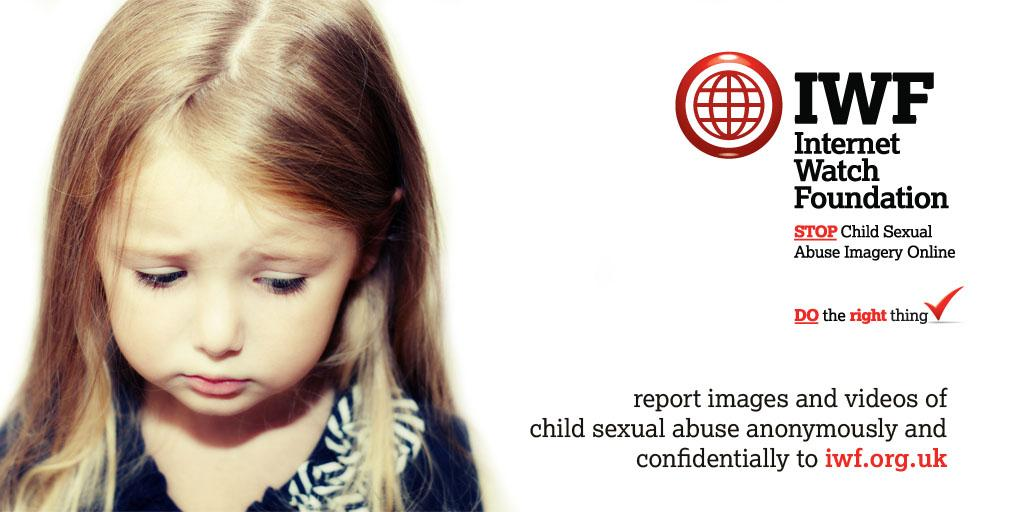 Do the right thing, report online images and videos of child sexual abuse http://t.co/C6YlQyARfz http://t.co/OK2L837DK1 #DoTheRightThing ✔