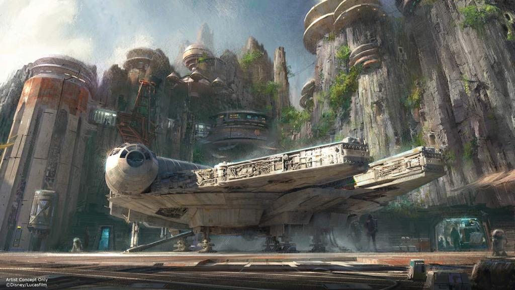 Thumbnail for D23 Expo: Details emerge about Star Wars Land at Disneyland, Disney World