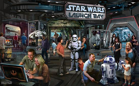 [Disney's Hollywood Studios] En attendant Star Wars Land: Star Wars Launch Bay, Season of the Force, ...   CMe6I5qUEAA-n6K