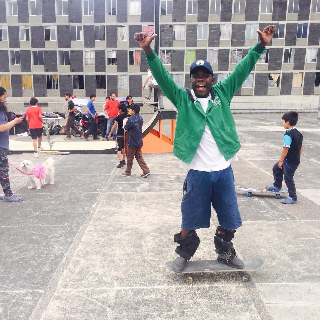 Secretaria Habitat On Twitter Deportes Extremos Para Jovenes Y