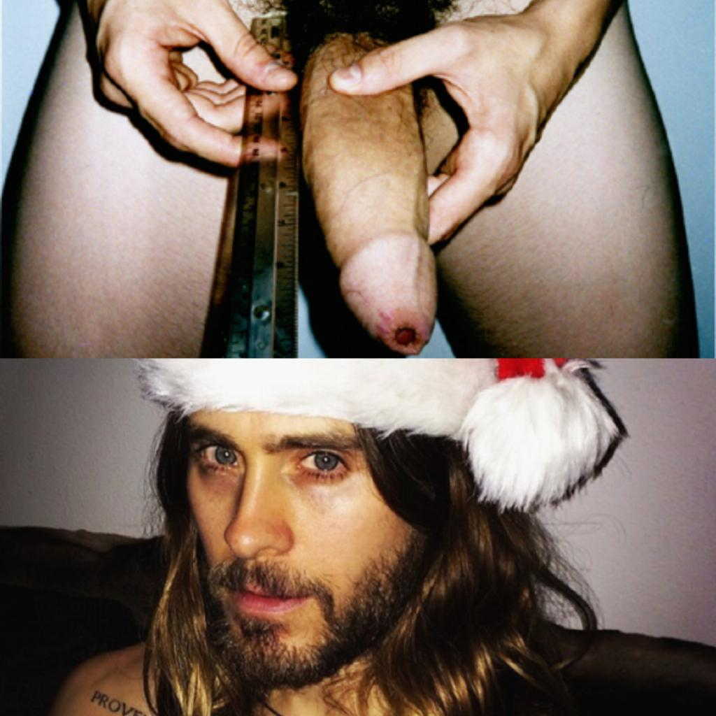 Jared leto nude ass cock