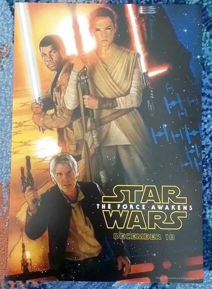 Ecco il poster di Star Wars Il Risveglio Della Forza