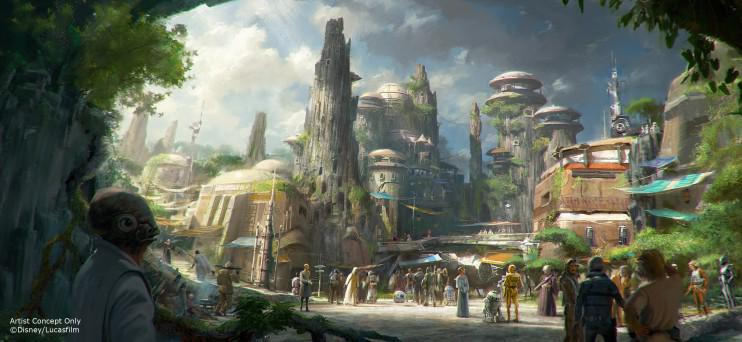 Disney announces creation of Star Wars theme parks. #D23Expo2015 http://t.co/FkWeKElOkZ
