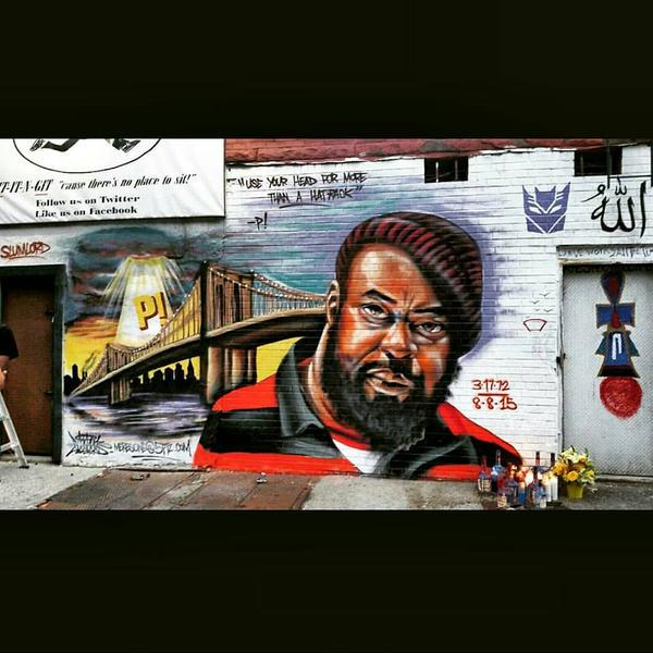 #RIPSeanP #SIP #RIPSeanPrice Mural done by #MERESONE The #HipHop community ===> https://t.co/0Xutn8VNN6 #LOVE http://t.co/OinOVkORJ6