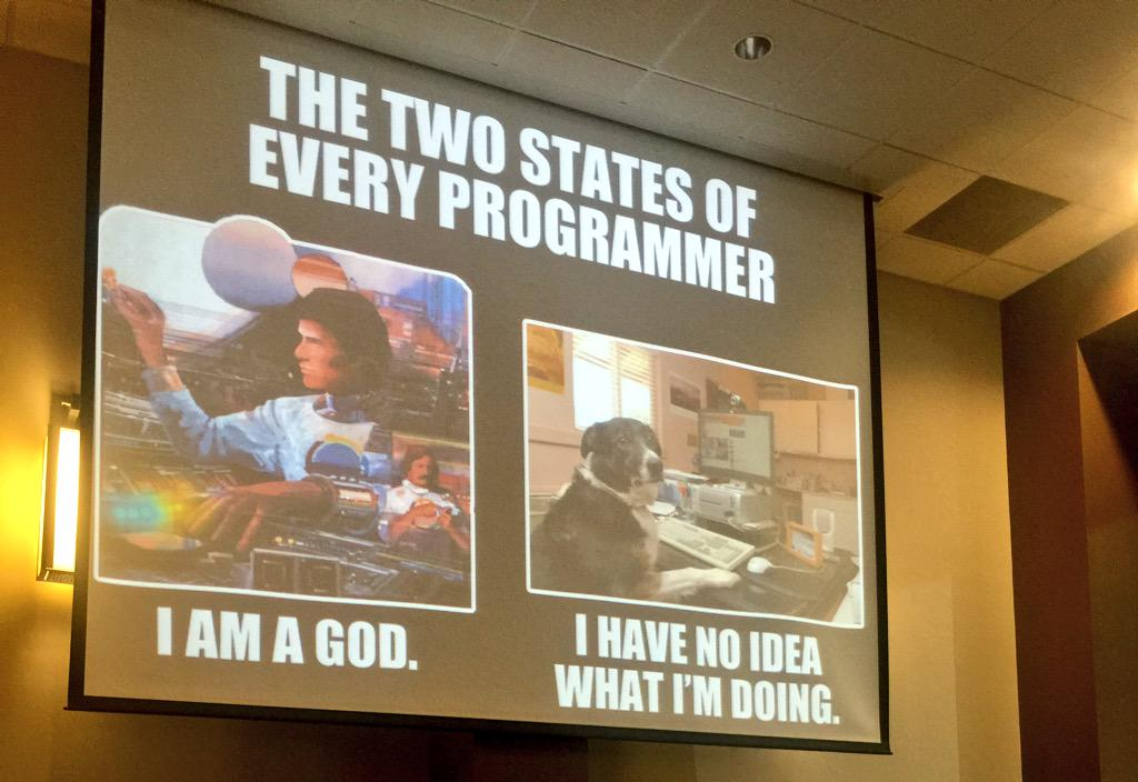 Learning the truth of programming and the virtues of TDD with @abrahamsangha at @LoneStarRuby http://t.co/NtRW0wAfpV