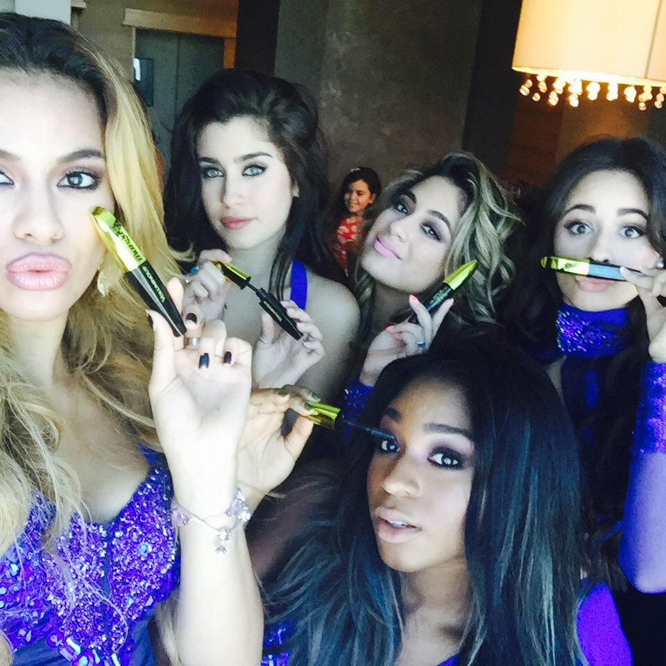 @fifthharmony's mascara game on point.