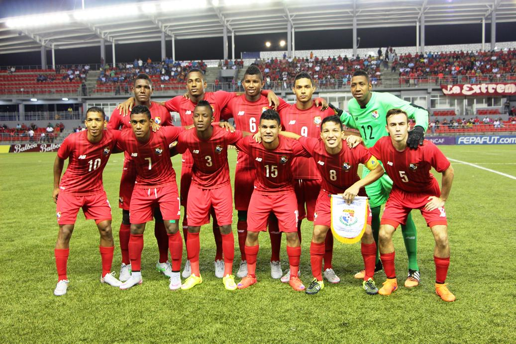 Eliminatorias UNCAF 2015 - Olimpicos Brasil 2016: El Salvador 2 Panama 3. CMfrqyLU8AA2koW