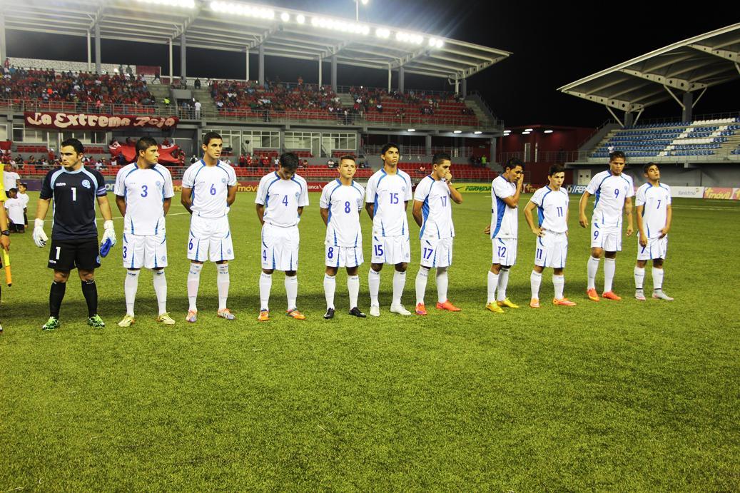 Eliminatorias UNCAF 2015 - Olimpicos Brasil 2016: El Salvador 2 Panama 3. CMfsL8pVEAAPjtn
