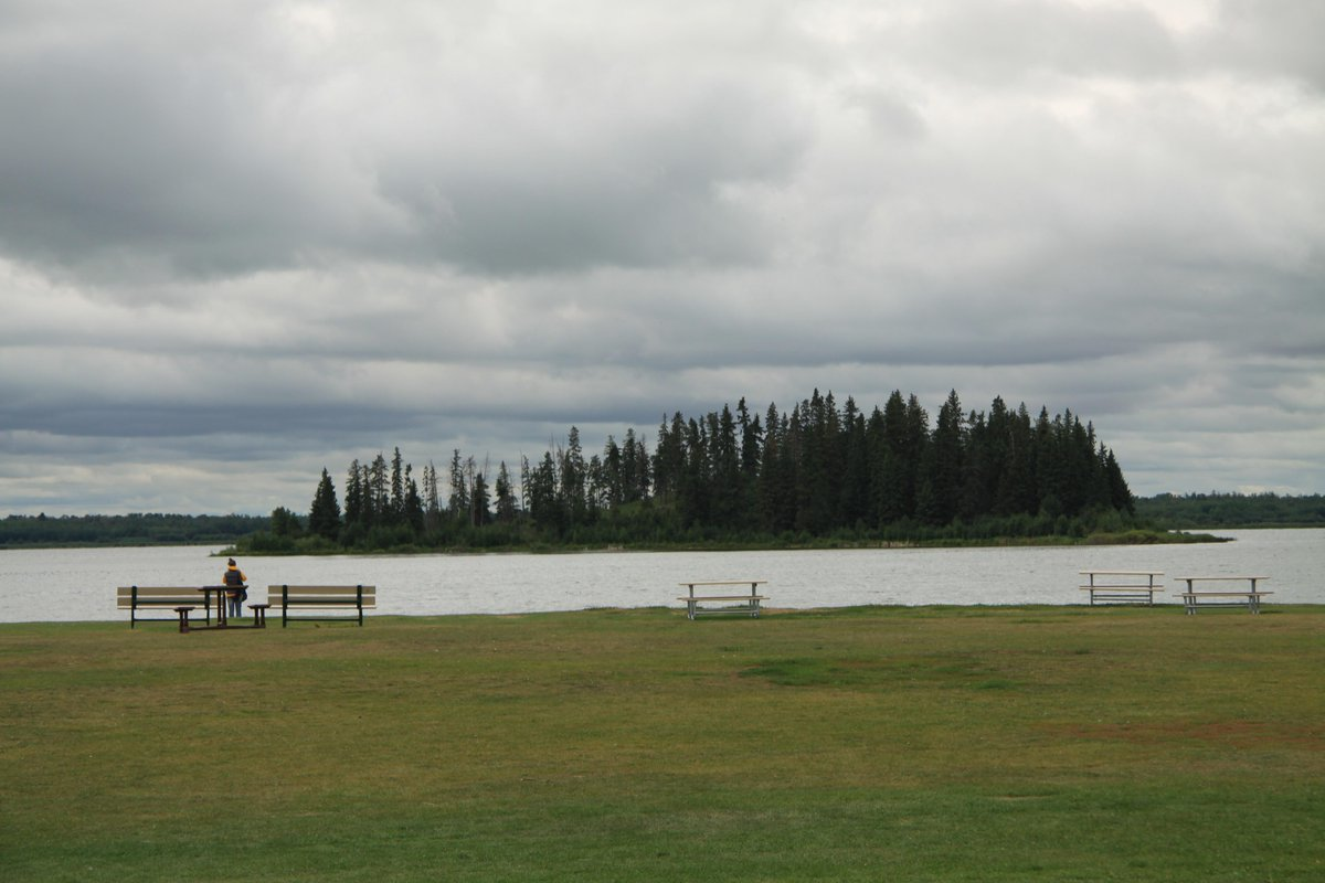 The #BisonFestival was held at beautiful Astotin Lake, the heart of the original Elk Island preserve. http://t.co/G07y7rc8AT