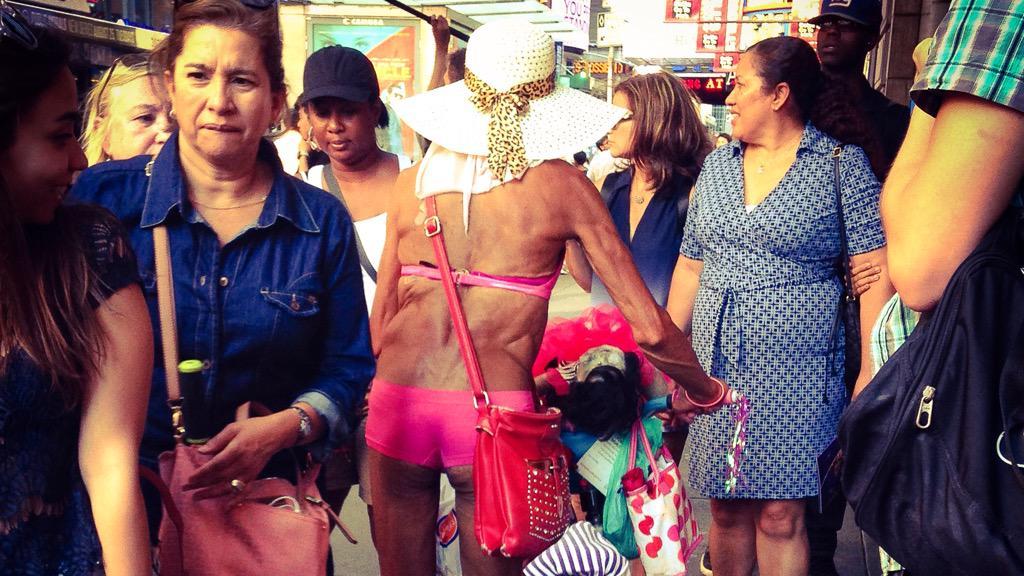 Man bikini old in Celebrities Over