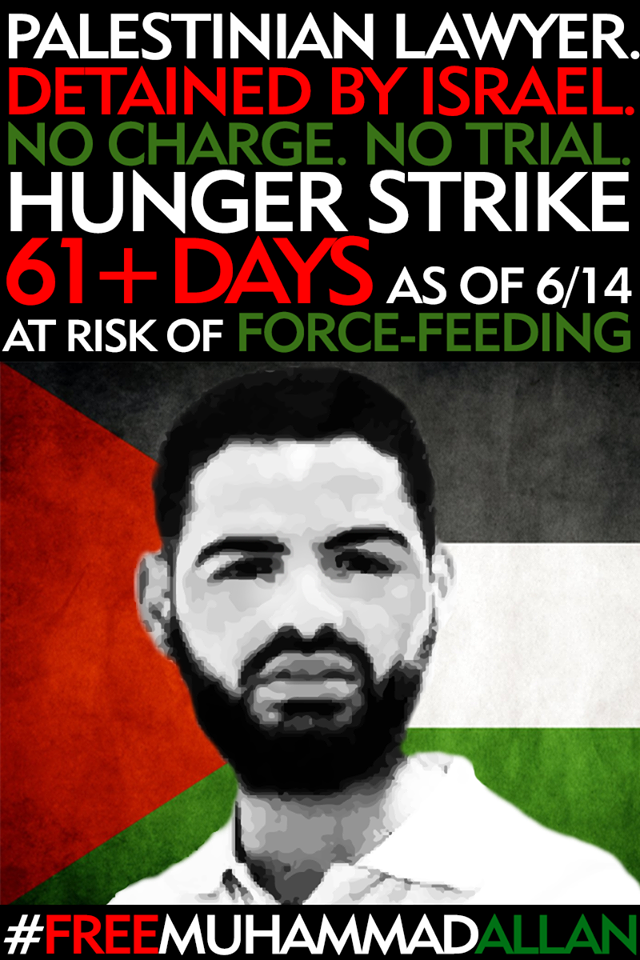 mohammed allan hunger striker