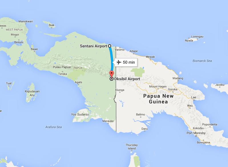 La ruta del avión, por @georgebkk