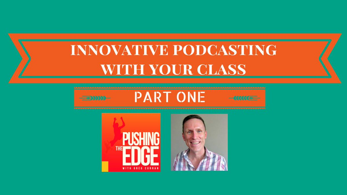 Innovative Podcasting with Your Class - Part 1 http://t.co/o73fVtEjwh #aussieED #edutweetoz http://t.co/VLePUWVp3N