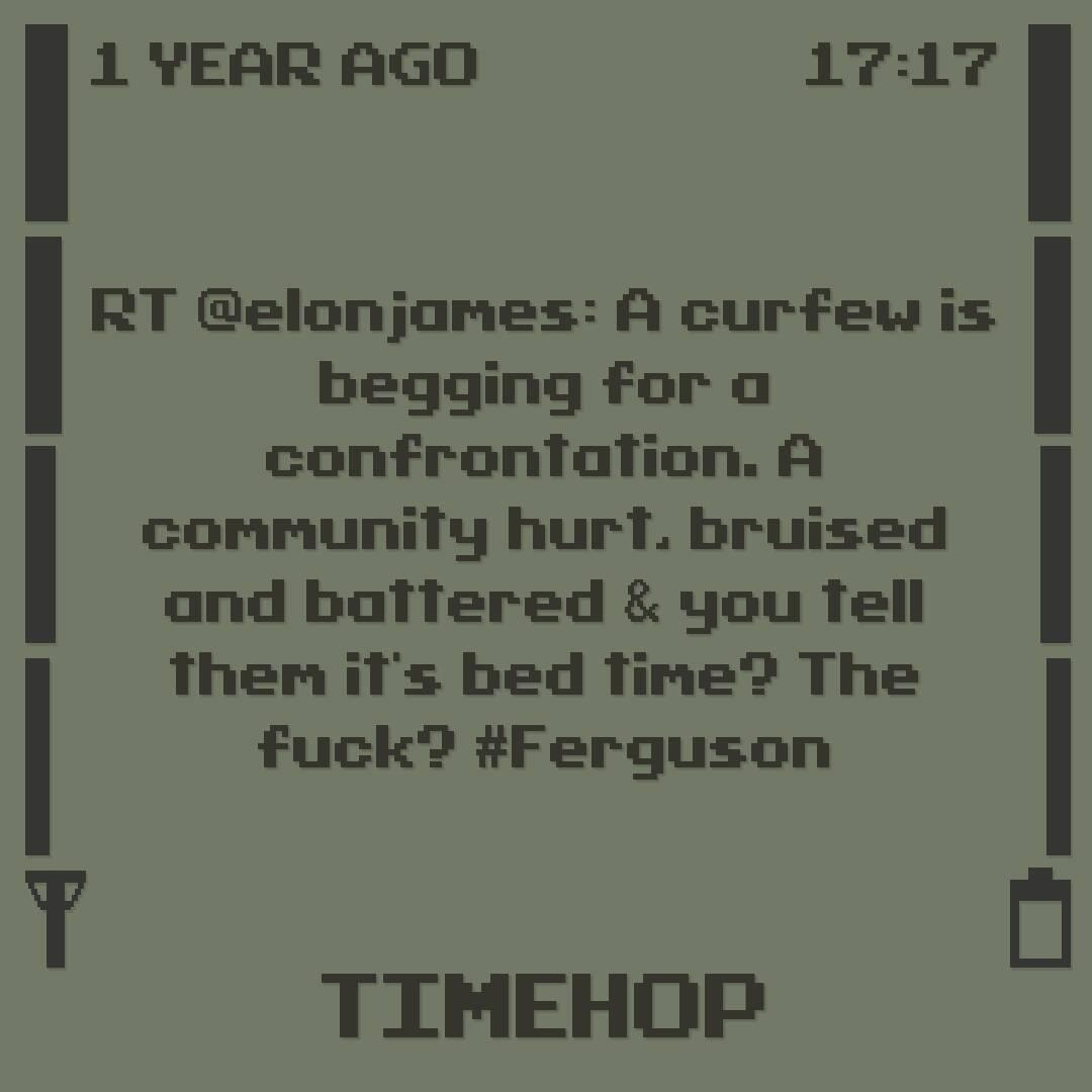 And @elonjames said this about curfews in Ferguson. http://t.co/BpUzvvjkgY