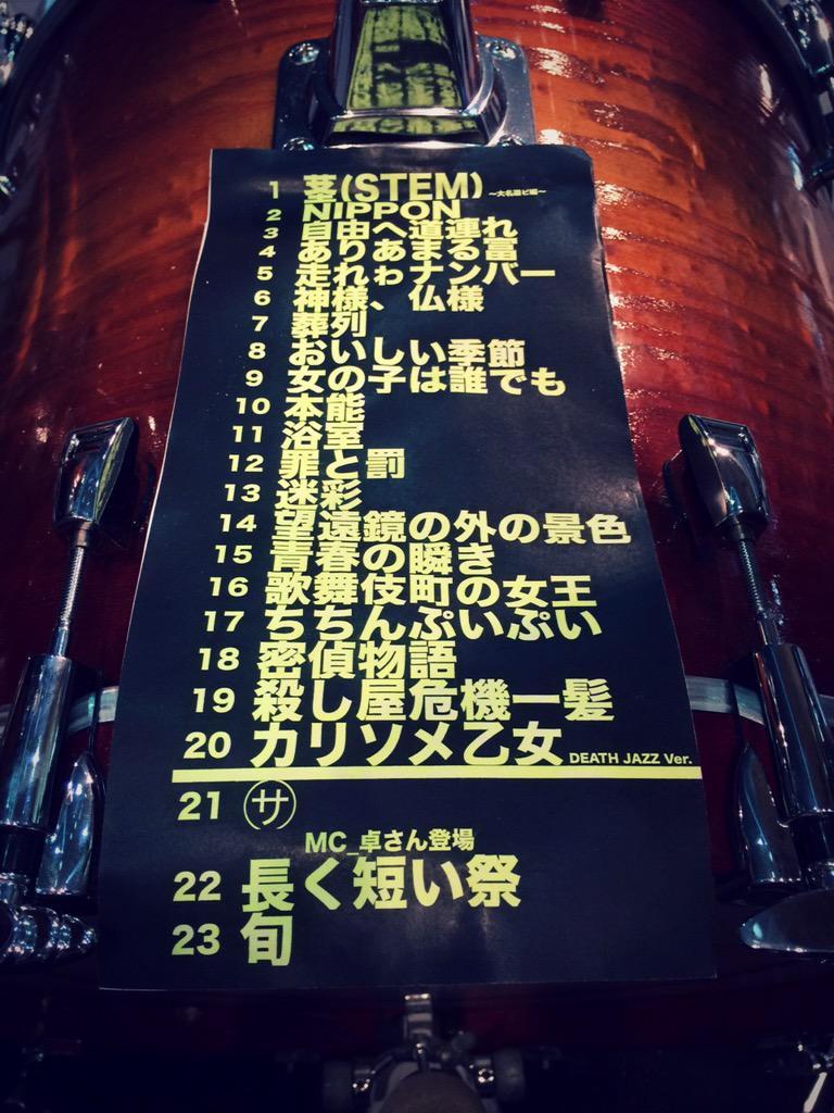 椎名林檎 生・林檎博'15 ~垂涎三尺~ 歌單