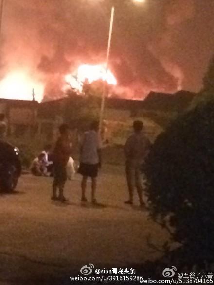 【速報】 中国の天然ガス施設で火災発生 大炎上
