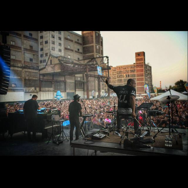 Shout out Detroit for being so amazing yesterday @MDBlockParty for us