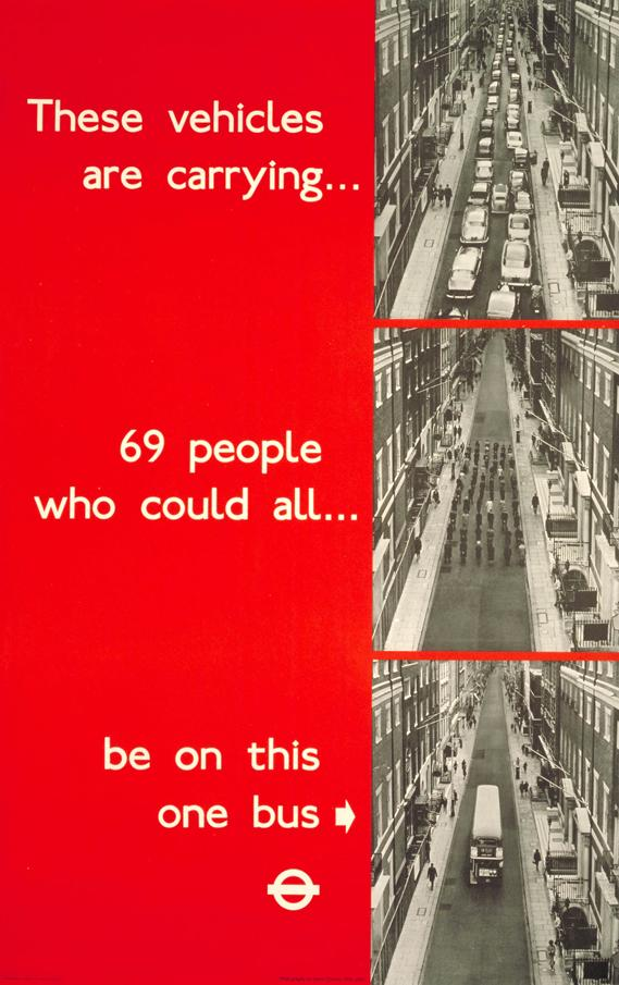 The infographic you've all been tweeting. You know it's a TfL ad from the 60s right? / cc @mschaer @caz_roberts http://t.co/pabCK1GkZf