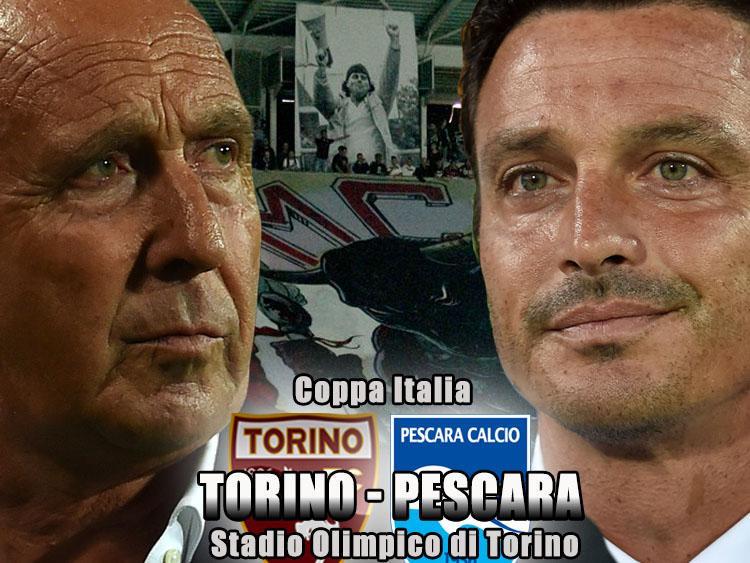 Torino-Pescara info Streaming Gratis (Coppa Italia TIM Cup) dopo Carpi-Livorno
