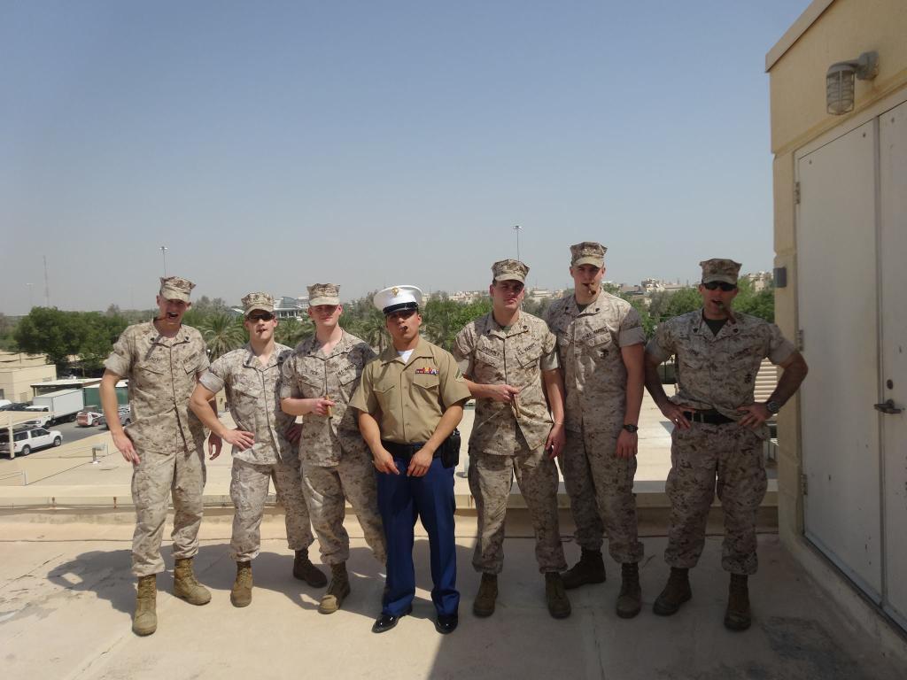 marine security guard detachment american embassy kuwait city kuwaitpictwittercomuulr38hdqa